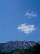 Mountain in Togakushi, Nagano Prefecture, Japan