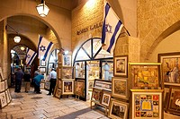 Israel, Jerusalem, the Jewish quarter, Cardo Maximus