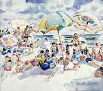 Parasols Martha Walter 1875_1976 American David David Gallery, Philadelphia
