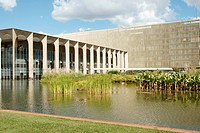 Palace Justice, city, Distrito Federal, Brasília, Brazil