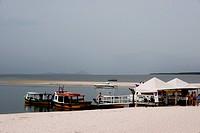 Beach, Boats, Ilha do Mel, Brasília, Paraná, Brazil