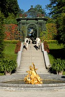 Germany _ Bavaria _ Linderhof Castle gardens