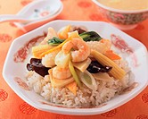 Sauteed Vegetable with Rice
