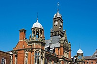 England, North Yorkshire, York. York Magistrates´ Court, an imposing Victorian building in Clifford Street built in 1891.