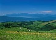 Kirigamine Highland, Suwa, Nagano, Japan