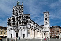 Italy, Tuscany, Lucca, San Michele Church