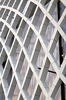 CHINA. EXTERIOR VIEW OF THE FACADE SHOWING THE TRELLIS DESIGN ´