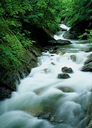 Rapid River, Yamanashi, Japan