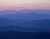 Morning Glow, Nagano, Japan