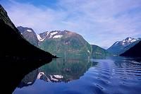 NORWAY, HJORUNDFHORDEN, FJORD