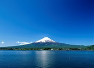 Mt.Fuji And Lake, Yamanashi, Japan