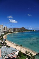 Beach Resort, Honolulu, Hawaii, U.S.A.