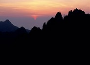 Morning Glory of Mount Huangshan, Anhui Province, China