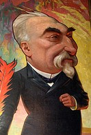 COMBES Emile 1835-1921, famous french politician from the socialist party left