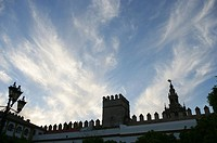 Spain, Andalusia, Seville, the Alcazar