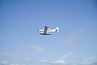 Float Plane Over Victoria British Columbia Canada