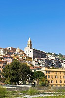 Old city, Ventimiglia, Liguria, Italy