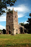 Clannaborough Church, Devon, England