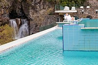 Italy, Liguria, Pigna Thermal baths