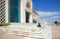 Africa, Tunisia, Tunis, the City Hall square
