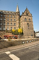 Philipps University, old university, Marburg, Hesse, Germany