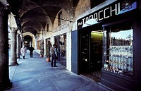 Italy, Lombardy, Vigevano, Ducale square