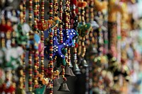Indian decorations with beads and bells