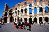 Italy, Lazio, Rome, The Colosseum
