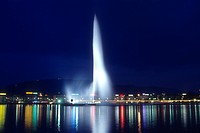 Switzerland, Geneva_ Jet d´Eau