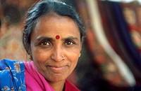 India, New Delhi, mature woman