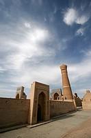 Uzbekistan, Bukhara, Poi_Kalyan Ensemble.