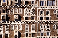 Yemen, Sanaa, typical architecture