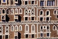Yemen, Sanaa, typical architecture