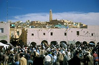 Africa, Algeria, Ghardaia, the market