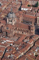 Italy, Lombardy, Mantua, aerial view