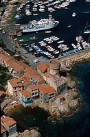 Tuscany, Giglio Island, the harbour of Giglio Porto