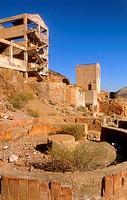 Rodalquilar Abandoned gold mine Cabo de Gata-Nijar Natural Park  Biosphere Reserve, Almeria province, Andalucia, Spain
