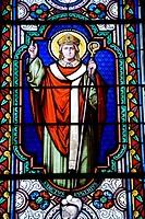 France. Paris. Sanctus EUGENIUS, pope Saint Eugene, Eugene I