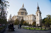 Saint Paul`s cathedral,London,England,United kingdom, Europe