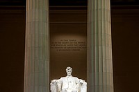 Lincoln memorial, Washington DC, USA