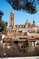 Cathedral, Segovia, Castile-Leon, Spain.