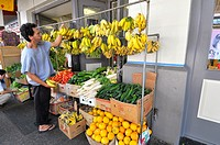 Fruits and Vegetables Chinatown Area Honolulu Hawaii Oahu Pacific Ocean