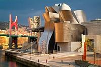 Guggenheim Museum Bilbao Vizcaya Spain Basque Country