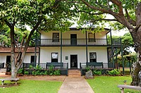 Historic Baldwin Home Museum Lahaina Maui Hawaii Pacific Ocean