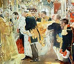 Coronation of Nicholas II Tsar of Russia By Valentin Serov 1865_1911