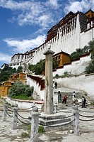 Potala Palace, Lhasa, Tibet, China
