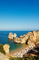Camilo beach, Ponta da Piedade, Algarve, Lagos, Portugal