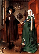 Jan van Eyck or Johannes de Eyck c. 1395 &#8211; 1441 Flemish painter active in Bruges and considered one of the best Northern European painters of the 15th...