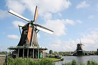 Windmills, Zaanse Schans, Holland