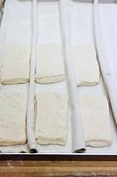 Dough for ciabatta